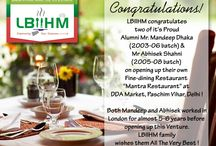 LBIIHM- Congratulate These Students