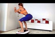 Exercise/Vibration board