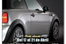 Manheim Promociones de Subastas de coches / Diseños creados para la promoción de las subastas físicas, online y otros eventos. Subastas de coches.