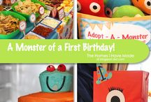 gavin's first birthday / by Jennifer Lanning- Wooster