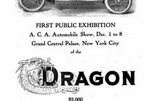 Dragon Automobile Co. Car Ads / The Dragon Automobile Company manufactured automobiles from 1906 to 1908, first in Detroit, Michigan, and then in Philadelphia, Pennsylvania. It was followed, briefly, by the Dragon Motor Company. They hired an excellent engineer to design its automobile: Leo Melanowski, who had apprenticed with the Otto Gas Engine Company in Vienna, worked for Panhard-Levassor and Clement-Bayard in France and Waltham in the United States and had been manufacturing foreman for Winton.