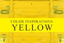 Color Inspiration: Yellow