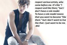 Inspirational kpop idols messages
