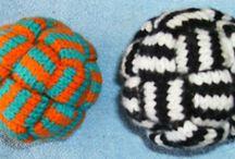 knit woven ball
