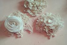 brooch shabby chic