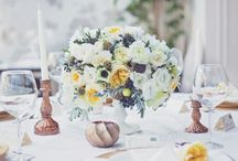 Centerpieces and other floral details