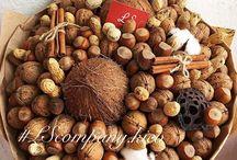 Букеты из орехов
