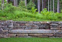 подпорные стенки