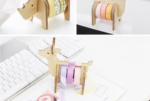 washi tape holder van etsy