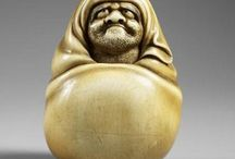 sculpture, ivory netsuke etc. / by Tara Matangi