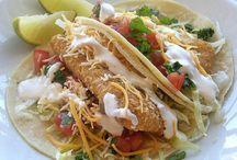 Mexican-fish tacos