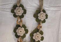 collane di feltro