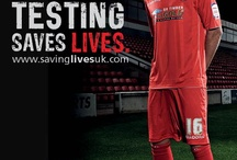 Walsall FC Supporting Football Saving Lives