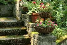 garden stair ideas