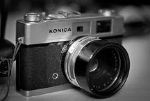 My Vintage Cameras / by Elizabeth McConchie