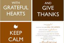 Thanksgiving :) / Gobble gobble