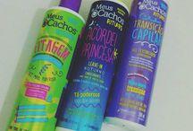 produtos de cabelo cacheado