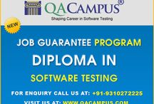 Software Testing / This program is a stepping stone in the domain of training and development as the candidates selected for this program get 100% placement on or before the completion of the training / by Rahul Gupta