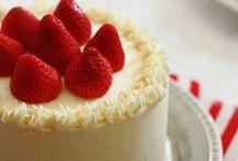bílá čokoška - dort