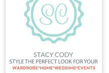 Personal Style Consultant can follow stacycodystyle / Personal Style Consultant. Styling picture perfect looks for your wardrobe.home.wedding.events. www.stacycodystyle.com   Follow stacycodystyle on pinterest, twitter, facebook, & instagram    / by Stacy Cody