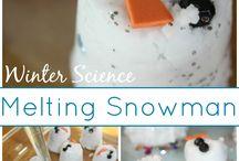 Winter theme activities