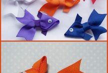 Pescados en cinta para niñas