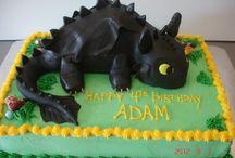 dragon cake / dragon cake