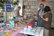 Demonstratie van Elizabeth Craft Design - 5 september 2015 / Op zaterdag 5 september gaven Els van de Burgt, Anita Izendoorn en Marsha Valk een demo met de nieuwste artikelen van Elizabeth Craft Design.