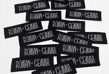 R+G Packaging / A peak into ROMAN+GEMMA packaging.