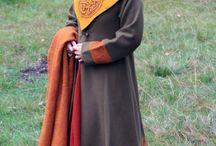 Axe and viking clothing