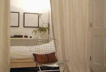 Sypialnia w pokoju przejsciowym