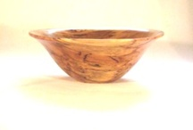 WOODEN SALAD BOWLS /  Hand turned large bowls from Bohemian Hardwoods.  Each piece is a signed & dated one-of-a kind.  Food safe finish.  All designed to last for generations.    SEE www.ETSY/shop/adorewoods.com