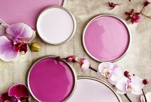 Very Berry / Color us berry: Soft pinks, deep fuchsia tones and bright magenta hues.