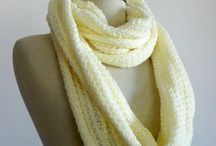 scarf and headband