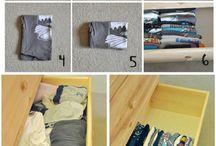 Vaatteiden järjestys