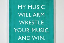 Music is my <3 / by Rachel Huffman