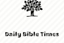 dailybibletimes.org logos  / Logos of dailybibletimes.org