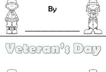 School Ideas - Our Country/President's Day/Veteran's Day