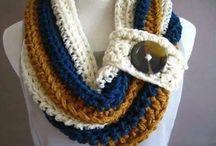 CROCHET :  Neck warmers, scarfs