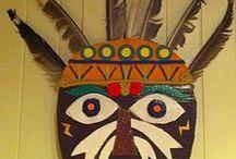 indáni,masky