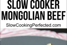 Mongolian Recipes