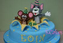 tom&jerry birthday cake