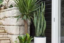 Outdoor pots combination