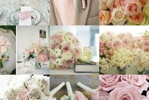 pretty pastels / gentle pastel colours for a soft romantic wedding