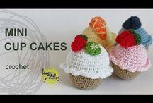 amigurumi food : cake, ice cream