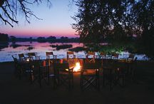PomPom Camp / The Camp is located on Pom Pom Island in a private concession situated in the heart of the Okavango Delta and on the head waters of the Xudum river system. The area lies on the western boundary of the Moremi Game Reserve and offers superb Okavango scenery and a true Okavango wilderness experience.