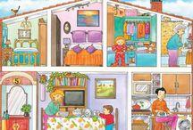 Miestnosti v dome