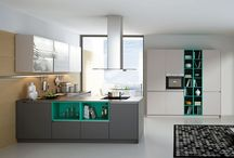 Handleless kitchens from Contur German kitchens / Our handleless German kitchens are available in gloss or matt fininshes