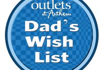 Dad's Wish List / Fun ideas for gifts for Dad for Father's Day.