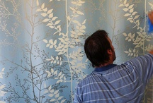 Cutting Edge Wallpapering / Wallpaper Installation Business based in Melbourne www.cuttingedgewallpapering.com.au